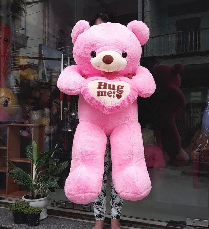 Hug me 1m2 hồng