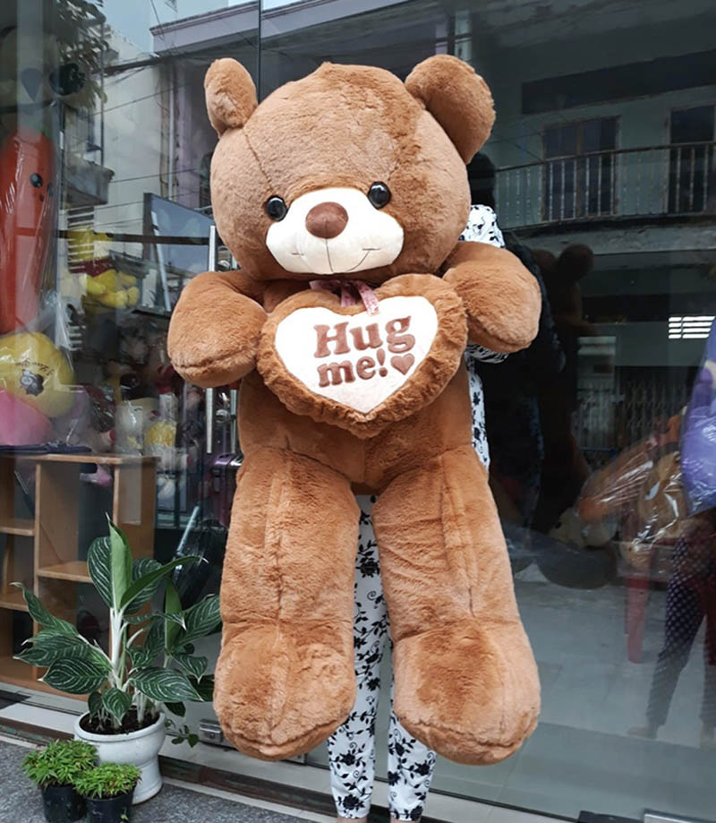 Hug me 1m2 nâu