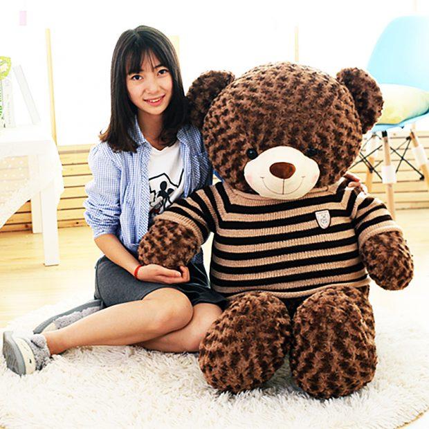 Size 2 (khổ 1.7m – cao 1.4m) - Gấu Teddy Socola