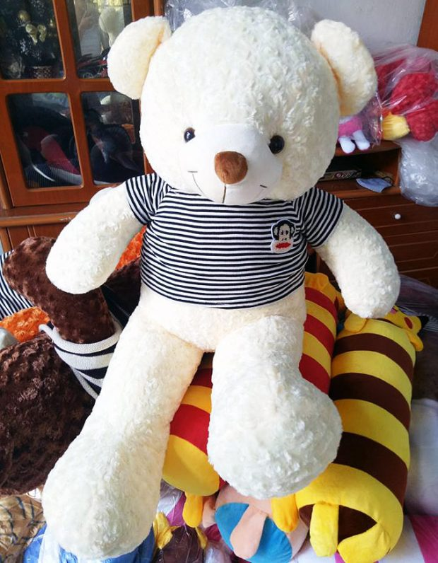Chú gấu Trắng cực đáng yêu