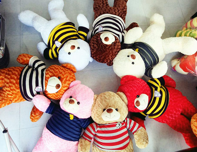 Shop gấu bông Vĩnh Long - Gấu Teddy Vĩnh Long