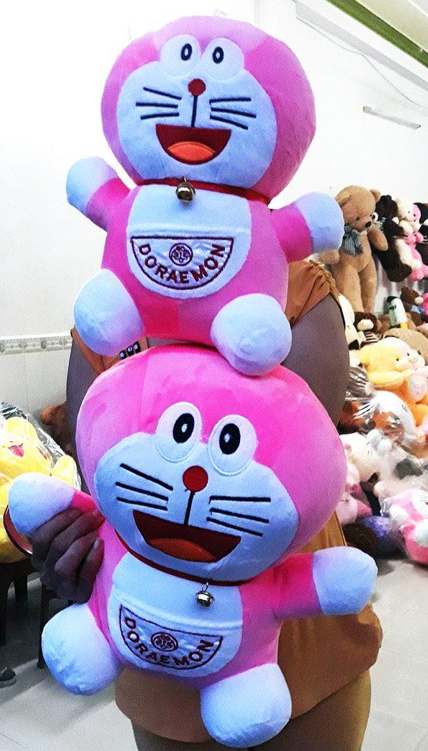 Mèo bông Doremon (Doraemon) & Doremi (Dorami)