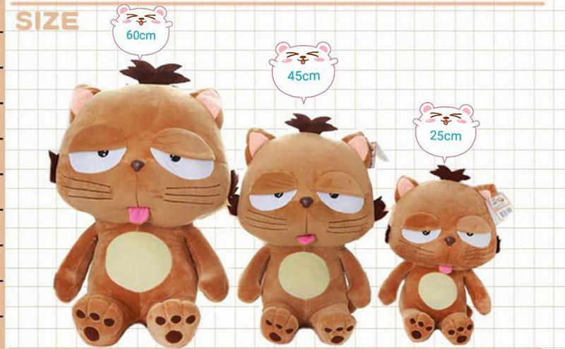 Bảng giá mèo lười Dinga tại shop Gấu Bông Cần Thơ