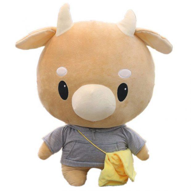 """Bò chăm chỉ trong phim """"Thư ký Kim sao thế"""" - Gấu Bông Cần Thơ"""
