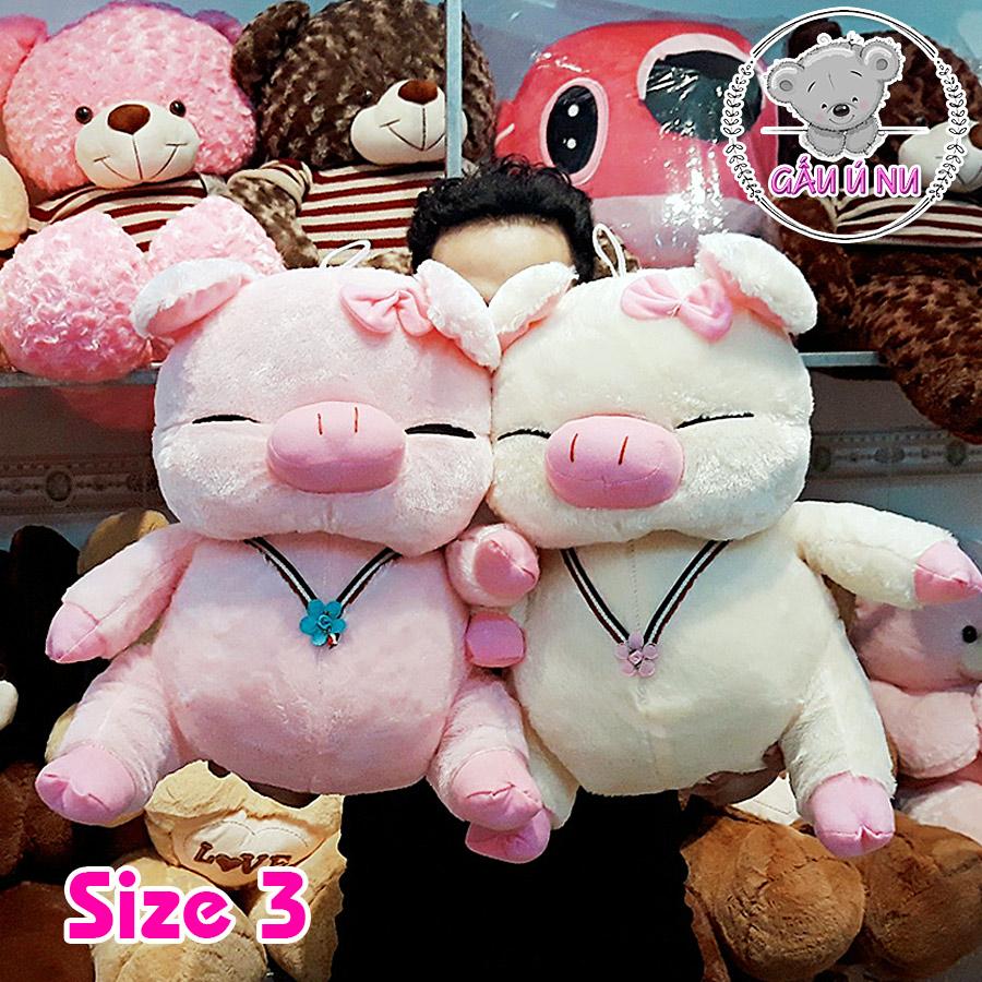 Heo bông (trắng và hồng) size 3