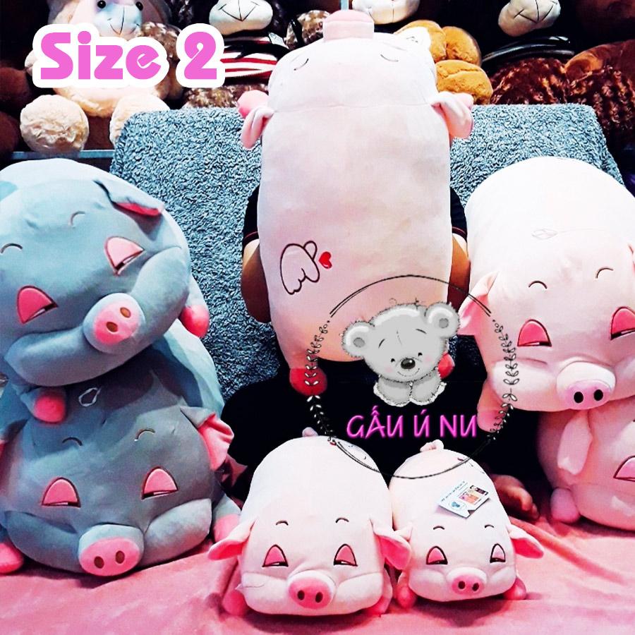 Heo bông Size 2 (70cm) màu hồng