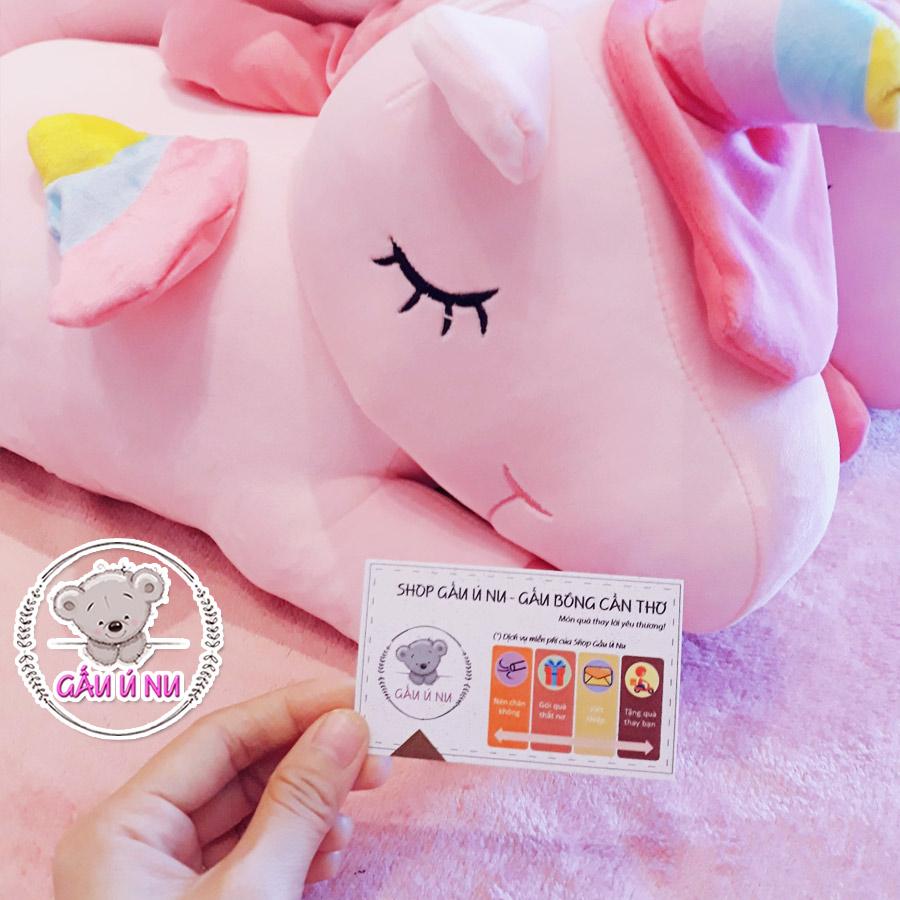 Ngựa Pony màu hồng, được tạo hình khá dễ thương.